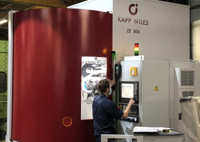 CNC Gear Grinding Pic